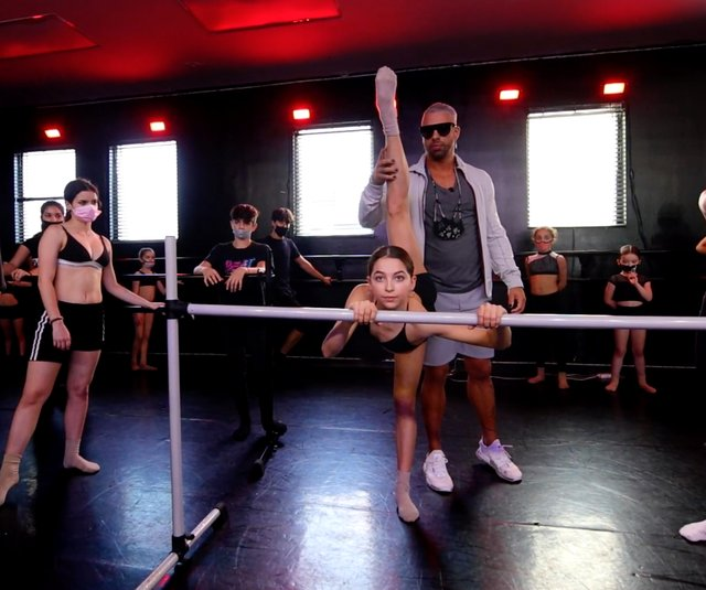 Victor Smalley, co-owner of Stars Dance Studio during class.jpg