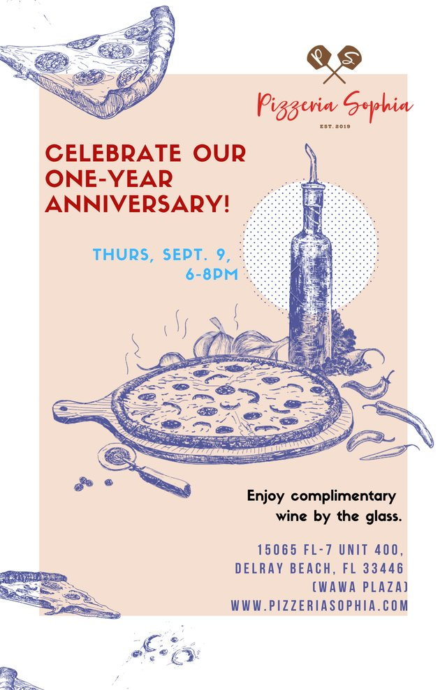 Join us as we celebrate our one-year anniversary!