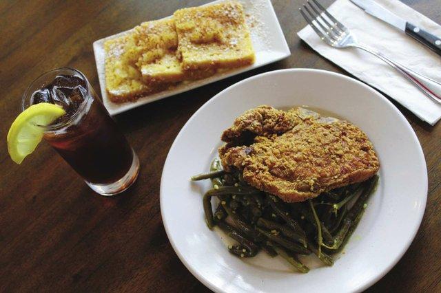 Southern_Fried_Pork_Chop_Bacon_Braised_Green_Beans_Pineapple_Corn_Bread_and_Sweet_Tea_opt.jpg