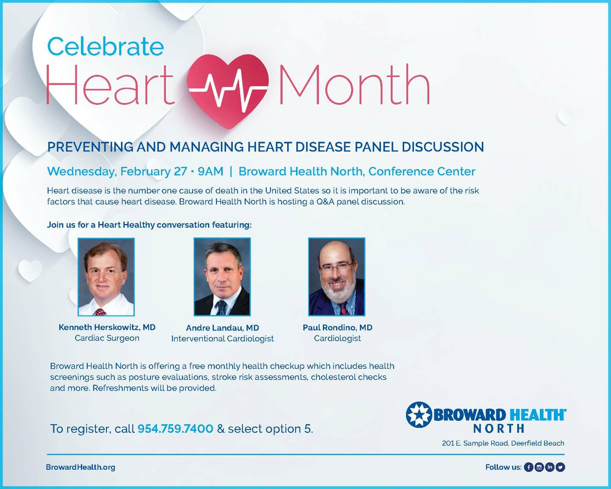 Preventing & Managing Heart Disease Panel Discussion
