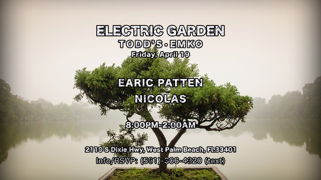 Nicolas, Earic Patten @ [Electric Garden] EMKO Flyer (4.19.2019) [Event Flyer 2].png