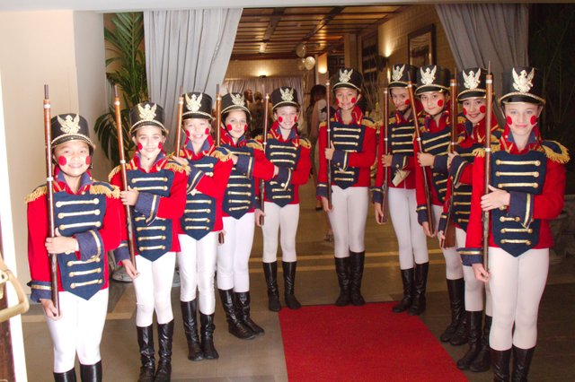 Toy Soldiers welcoming guests to A Princely Affair (2).jpg