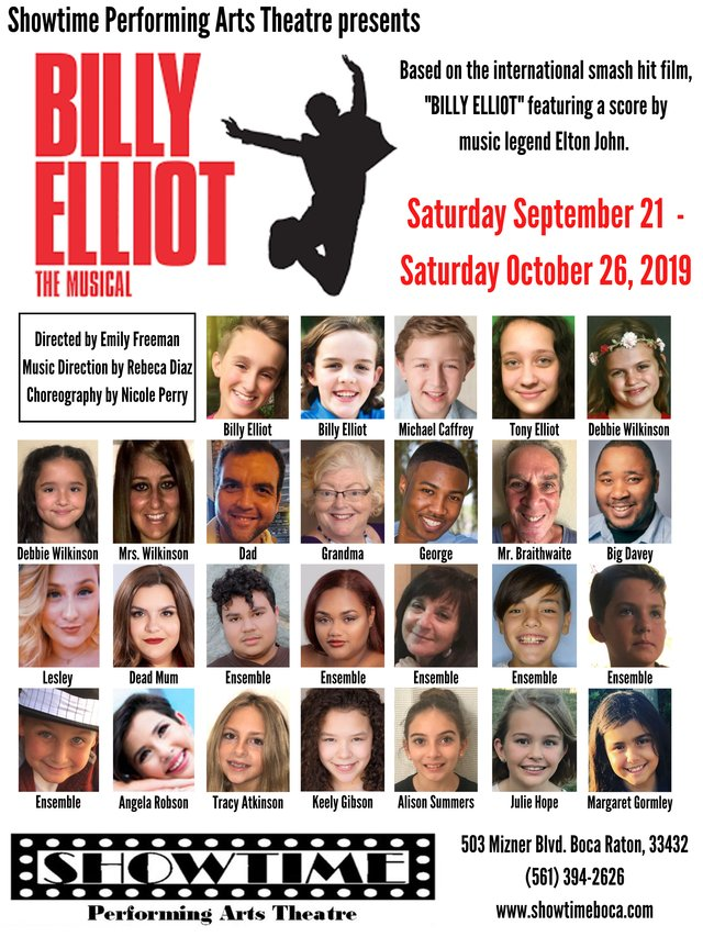 Billy Elliot 2019 Cast Poster.png