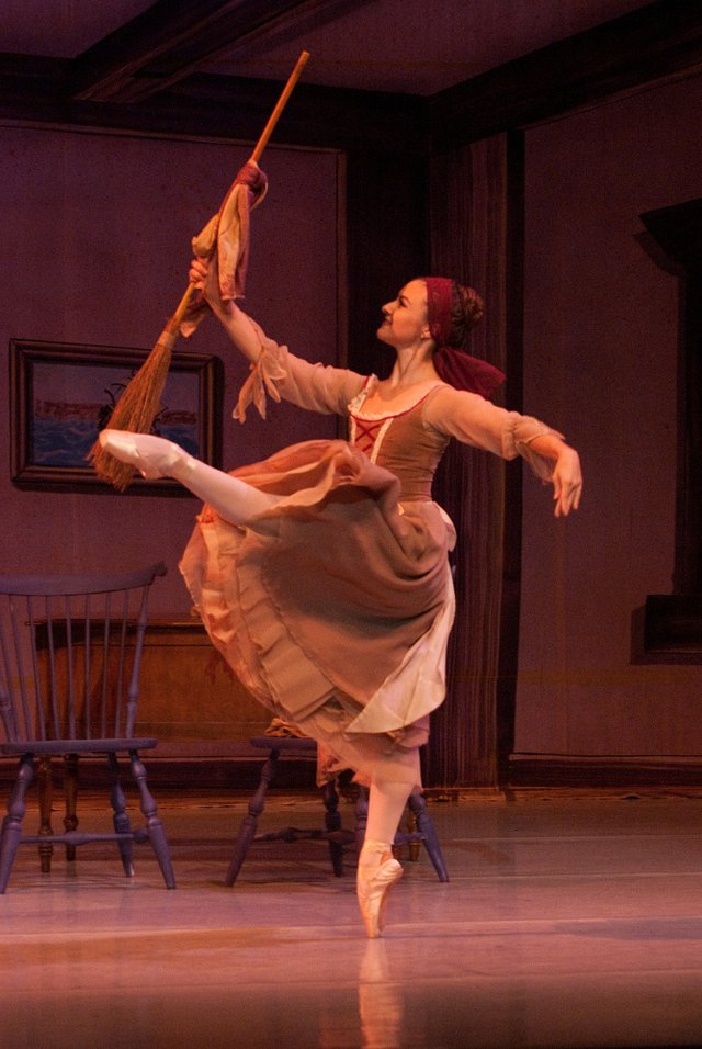 1. Cinderella Dances with Broom; PC Janine Harris, Dancer Madeleine Miller sm.jpg