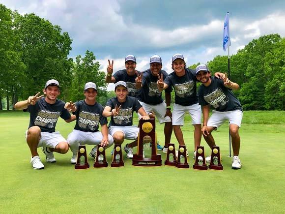 Lynn University men's golf team win 25th championship