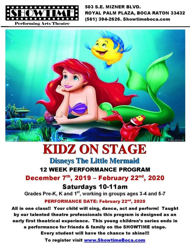 KIDZ ON STAGE Disneys The Little Mermaid 2019-20.jpg