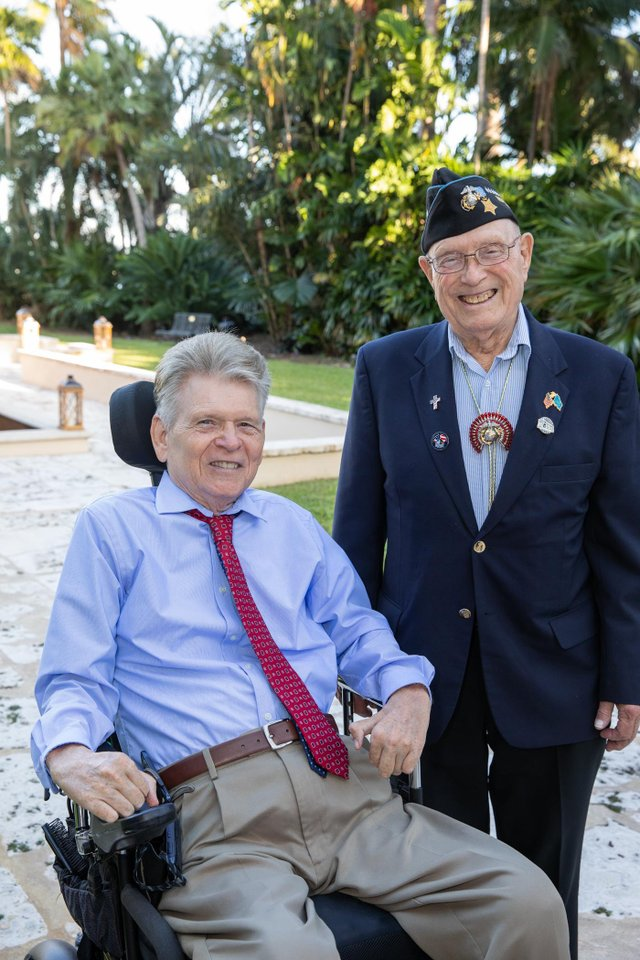 6. Thomas Cory and Medal of Honor Recipient, Hershel Woody Williams.jpg