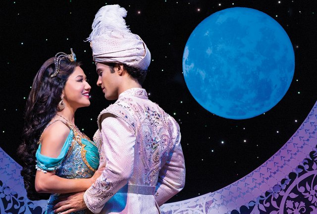 S6 Kaena Kekoa (Jasmine) & Jonah Ho'okano (Aladdin).  Aladdin North American Tour. Photo by Deen van Meer.jpg