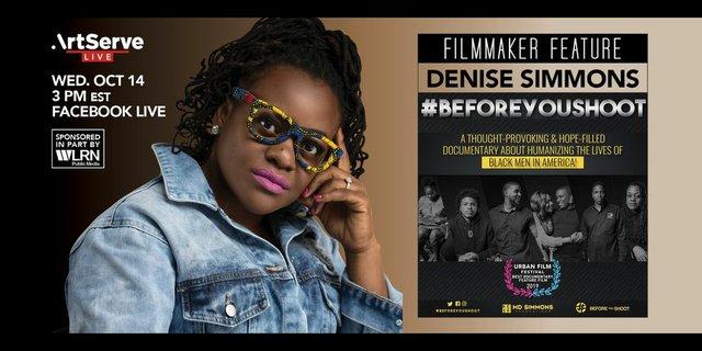 ArtServe Filmmaker Feature Denise Simmons.jpg